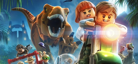 Логотип Lego Jurassic World